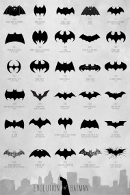 Batman logo evoliution