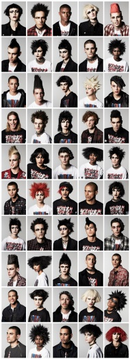Vogue's army of punk rockers.