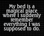 About bed