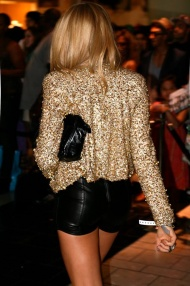 Black and sequin