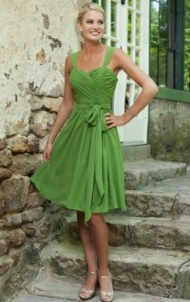 cute cheap short bridesmaid dress from queeniebridesmaid