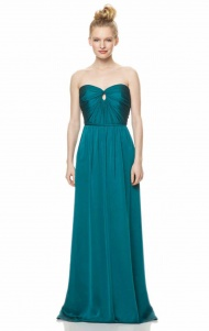 Strapless Sweetheart A-Line Chiffon Bridesmaid Dress supplied by VioletDress at £90.99  are the best choice for you