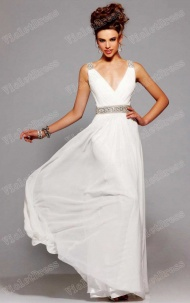 Elegant Sheath Chiffon Long Bridesmaid Dress supplied by VioletDress at £67.99  are the best choice for you.