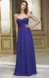 A-line Strapless Sleeveless Chiffon Bridesmaid Dress With Beaded supplied by VioletDress at GBP79.99 are the best choice for you.